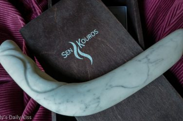 Sen kouros The Archer marble dildo review